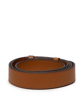 Coccinelle Coccinelle Wymienny pasek do torebki Linea IZ6 Shoulder Strap E3 IZ6 68 20 01 Brązowy