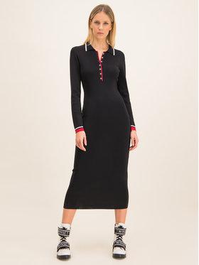 My Twin Úpletové šaty 201MP3053 Regular Fit