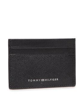 Tommy Hilfiger Tommy Hilfiger Custodie per carte di credito Business Cc Holder AM0AM07614 Nero