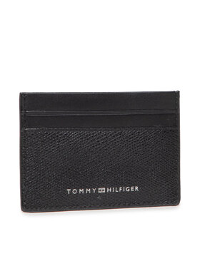 Tommy Hilfiger Tommy Hilfiger Puzdro na kreditné karty Business Cc Holder AM0AM07614 Čierna