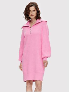 YAS YAS Плетена рокля Dalma 26024412 Розов Regular Fit