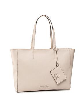 Calvin Klein Calvin Klein Sac à main Shopper Md K60K606664 Beige