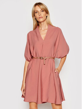Imperial Imperial Φόρεμα καθημερινό ABQCBGI Ροζ Regular Fit