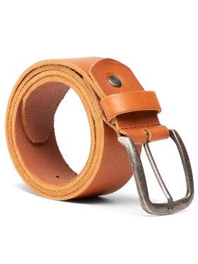 Jack&Jones Jack&Jones Pasek Męski Jackpaul Leather Belt 12111286 Brązowy