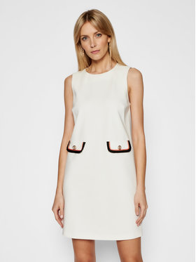 Liu Jo Liu Jo Ежедневна рокля CA1111 J1857 Бял Regular Fit