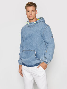 Tommy Jeans Tommy Jeans Geacă de blugi Novelty Pop DM0DM10295 Albastru Regular Fit