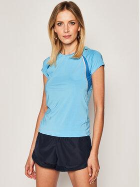 Asics Funkčné tričko Ss Crew Top 322222 Modrá Regular Fit