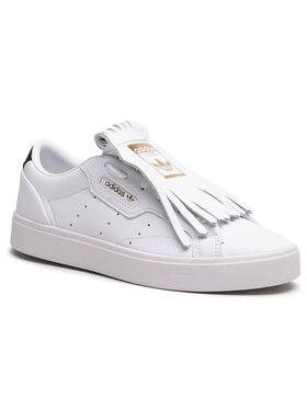 adidas adidas Обувки Sleek W FY5047 Бял