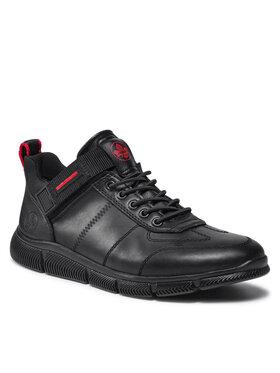 Rieker Rieker Sneakersy B0434-00 Czarny