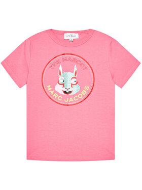 Little Marc Jacobs Little Marc Jacobs T-Shirt W15541 D Rosa Regular Fit