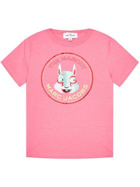 Little Marc Jacobs Little Marc Jacobs T-shirt W15541 D Rose Regular Fit