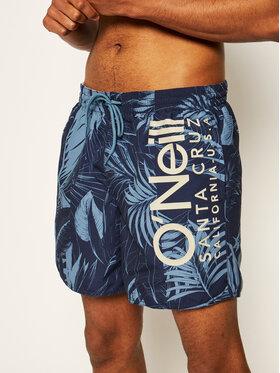 O'Neill Plavecké šortky Cali Floral Swim 0A3228 Tmavomodrá Regular Fit