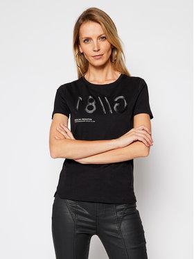Guess Guess T-Shirt W1RI0B I3Z00 Černá Slim Fit