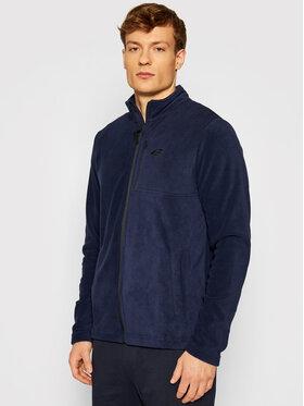4F 4F Fliso džemperis NOSHA4-PLM003 Tamsiai mėlyna Regular Fit