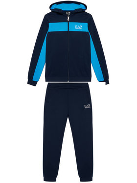 EA7 Emporio Armani EA7 Emporio Armani Sportinis kostiumas 3KBV56 BJ05Z 1554 Tamsiai mėlyna Regular Fit