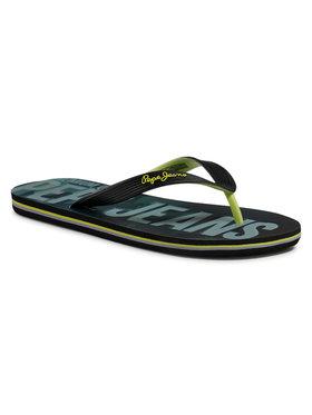 Pepe Jeans Pepe Jeans Flip-flops Hawi Camo PMS70098 Fekete