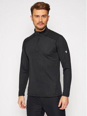 Descente Descente Bluză tehnică Piccard DWMQGB23 Negru Regular Fit