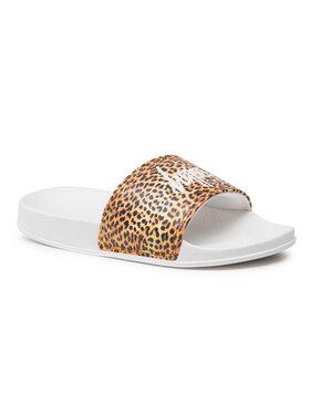 HYPE HYPE Mules / sandales de bain Leopard Sliders Kids SS21SLID006 Marron