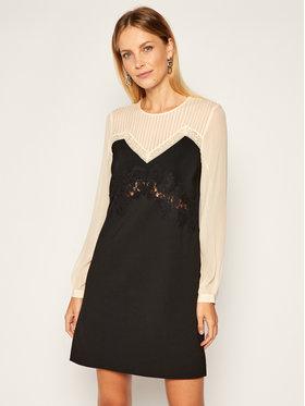TwinSet TwinSet Sukienka koktajlowa 202TP2311 Czarny Regular Fit