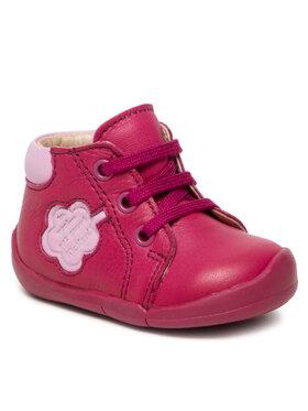 Kickers Kickers Šnurovacia obuv Waouk 858381-10-131 Ružová