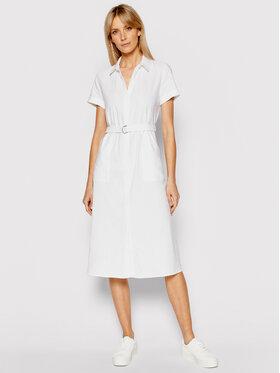 Calvin Klein Calvin Klein Marškinių tipo suknelė K20K202954 Balta Regular Fit