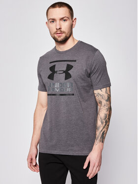 Under Armour Under Armour Тишърт Ua Gl Foundation 1326849 Сив Loose Fit