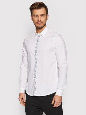 Calvin Klein Jeans Calvin Klein Jeans Πουκάμισο J30J318620 Λευκό Slim Fit