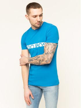 Boss Boss Póló Protection 50407600 Kék Regular Fit