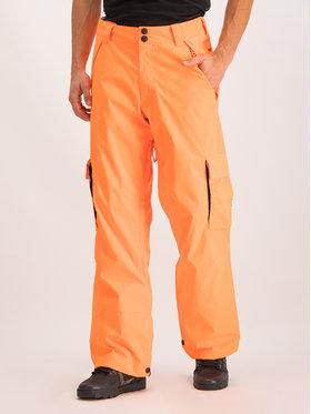 DC DC Spodnie snowboardowe EDYTP03047 Pomarańczowy Regular Fit