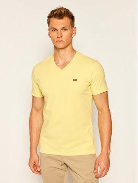 Levi's® Levi's® T-Shirt Original Housemark Tee 85641-0005 Žlutá Regular Fit