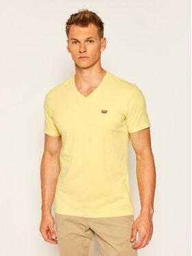 Levi's® Levi's® T-Shirt Original Housemark Tee 85641-0005 Żółty Regular Fit