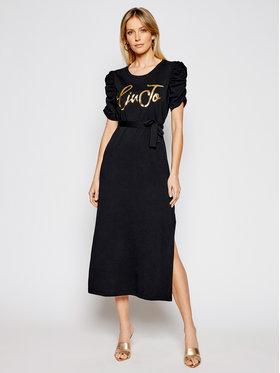Liu Jo Liu Jo Každodenné šaty WA1246 J5703 Čierna Regular Fit