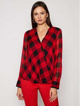 DKNY DKNY Блуза P0JAVCMH Червен Regular Fit