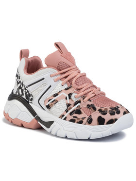 Guess Guess Sneakersy Marlia FL5RLI ELE12 Růžová