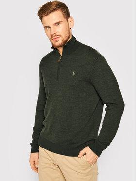 Polo Ralph Lauren Polo Ralph Lauren Пуловер 710758370003 Зелен Regular Fit