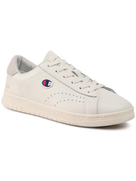 Champion Champion Sneakers Court Club Patc S21126-FW19-WW001 Blanc
