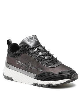 Pepe Jeans Pepe Jeans Sneakersy Koko Mika PLS31244 Černá