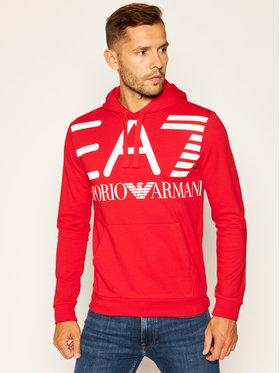 EA7 Emporio Armani EA7 Emporio Armani Sweatshirt 6HPM16 PJ05Z 1451 Rot Regular Fit