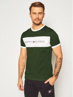 TOMMY HILFIGER TOMMY HILFIGER T-Shirt UM0UM01170 Πράσινο Regular Fit