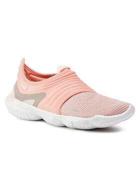 Nike Nike Buty Free Rn Flyknit 3.0 AQ5708 600 Różowy