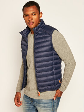 Save The Duck Save The Duck Gilet D8241M GIGAY Blu scuro Regular Fit
