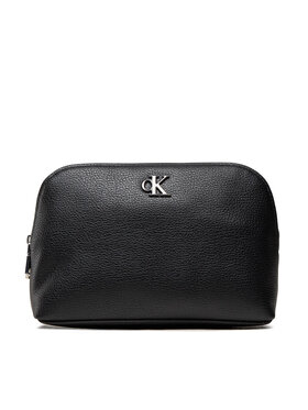 Calvin Klein Jeans Calvin Klein Jeans Kosmetiktasche Minimal Monogram Make Up Bag K60K608403 Schwarz