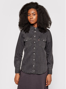 Levi's® Levi's® Koszula jeansowa Essential Western 16786-0004 Czarny Regular Fit