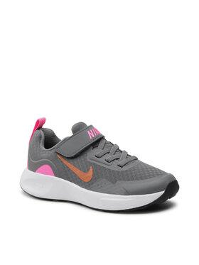 Nike Nike Cipő Wearallday (Ps) CJ3817 006 Szürke