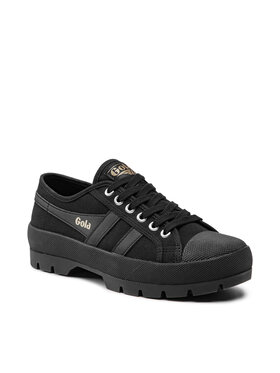 Gola Gola Sneakers aus Stoff Coaster Peak CLB090 Schwarz