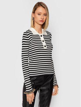 Pinko Pinko Sweater Vin Santo 1G1689 Y77F Fekete Regular Fit