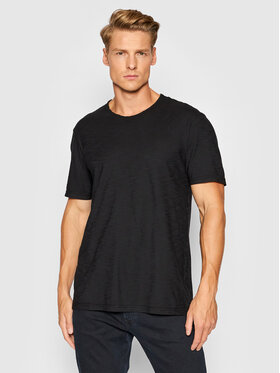 United Colors Of Benetton United Colors Of Benetton T-Shirt 3JE1J19A5 Czarny Regular Fit