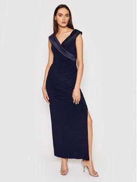 Lauren Ralph Lauren Lauren Ralph Lauren Sukienka wieczorowa Long Gown 253767936003 Granatowy Regular Fit