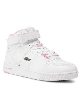 Lacoste Lacoste Sneakersy Tramline Mid 0120 SUJ 7-40SUJ00171Y9 Biela