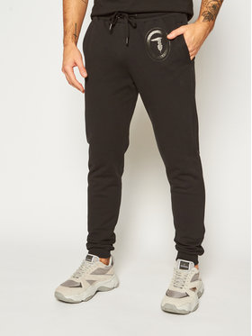 Trussardi Jeans Trussardi Jeans Παντελόνι φόρμας Brushed 52P00131 Μαύρο Regular Fit